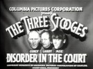 Thumbnail THE THREE STOOGES - DISORDER IN THE COURT - COMEDY - 1936