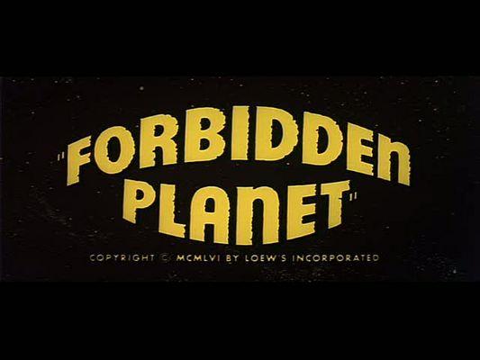 Product picture FORBIDDEN PLANET - MOVIE TRAILER - 1956