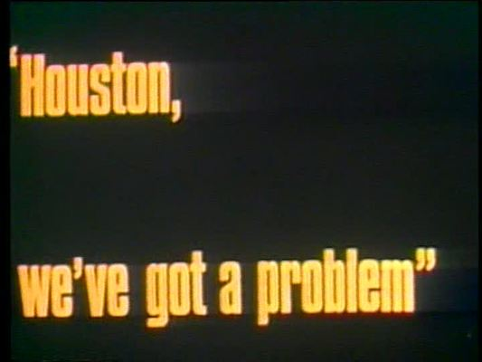Product picture APOLLO 13 - HOUSTON WEVE GOT A PROBLEM - MOVIE - 1972 - EDU