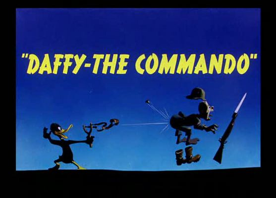 Product picture DAFFY THE COMMANDO - CARTOON - 1943 - LOONEY TUNES - COMEDY