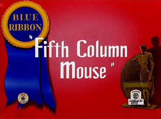 Product picture FIFTH COLUMN MOUSE - CARTOON - 1943 - COMEDY