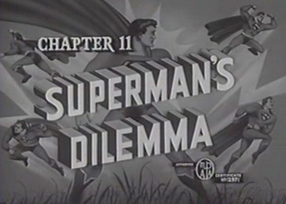 Product picture SUPERMAN - 1948 - CHAP 11 - SUPERMANS DILEMMA